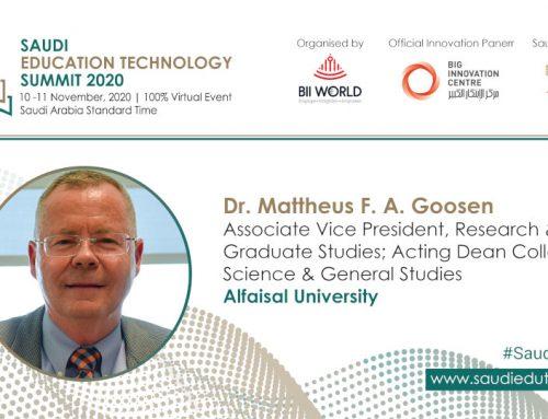 Interview with Dr. Mattheus F. A. Goosen